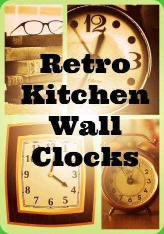 Nostalgic Vintage Kitchen Clocks