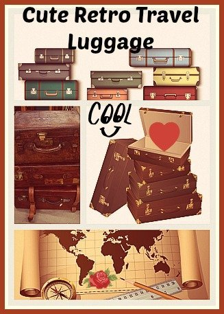retro-travel-luggage-with-wheels