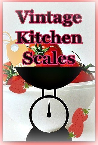 Retro Vintage Kitchen Scales