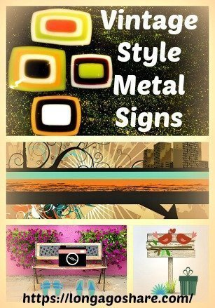 Vintage Style Metal Signs