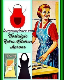 Nostalgic Vintage Style Aprons For Women